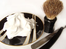 Man`s Shave Accessories Stock Photography