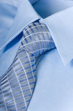 Man's Shirt and Necktie stock photography