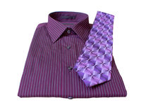 Man's Shirt and Tie Royalty Free Stock Image