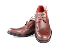 Man's shoe. Royalty Free Stock Photography