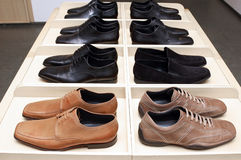 Man's shoes. Stock Image