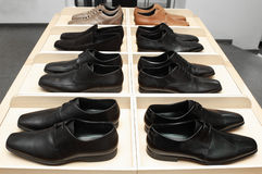 Man's shoes. Royalty Free Stock Image