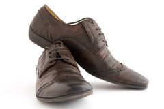 Man's shoes Stock Images