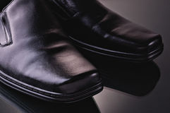 Man's shoes Royalty Free Stock Photography