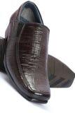 Man's shoes Stock Photos