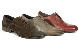 man s shoes stilfullt Fotografering för Bildbyråer