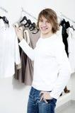 Man's shopping Stock Image