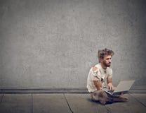 Man's sitting Stock Photography