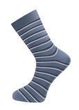 Mans socks. Vector realistic mans socks on white background Royalty Free Stock Photography