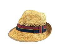 Man's Straw Hat Royalty Free Stock Image