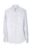 Man's striped shirt royalty free stock photography