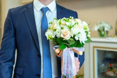 Man`s style. A set of clothes for the groom. stock photos
