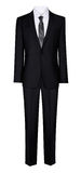 Man's suit isolated on a white background Royalty Free Stock Photography