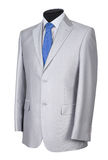 Man's suit on white Royalty Free Stock Images