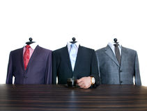 Man's suits Stock Photos
