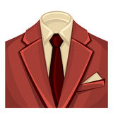 Man's suits for business background Royalty Free Stock Image
