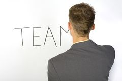 Man's team... Stock Photography