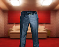 Man's trousers Stock Photo