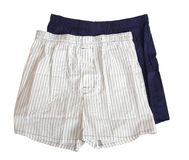 Man's underwear isolated Royalty Free Stock Photo