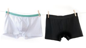 Man's underwear Royalty Free Stock Images