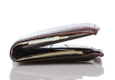 Man's Wallet Stock Photography