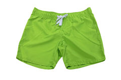 Man's wear – shorts green Stock Image