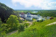 Man& sacro x27 di Divnogorsky Uspensky; monastero di s e fiume Don Immagine Stock Libera da Diritti