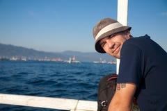 Man Sailing Royalty Free Stock Photo