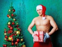 Man Santa Royalty Free Stock Photo