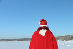 The man in Santa Claus's suit Royalty Free Stock Photo