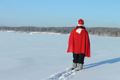 The man in Santa Claus's suit Royalty Free Stock Photography