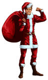 Man in Santa Claus suit Stock Photo