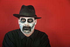 Man in scary makeup Royalty Free Stock Image