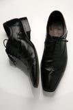 Man schoenen Stock Afbeelding