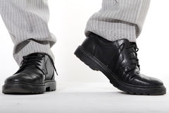Man Schoenen Stock Foto