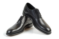 Man schoenen 5 Stock Foto's