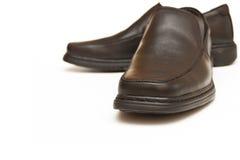 Man schoenen. De zwarte Royalty-vrije Stock Fotografie