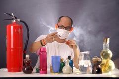 Man scientist Stock Image