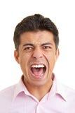Man screaming Royalty Free Stock Photos