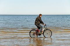 Man at the sea. Royalty Free Stock Photos