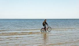 Man at the sea. Royalty Free Stock Photo