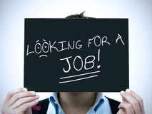 Man search job Stock Images