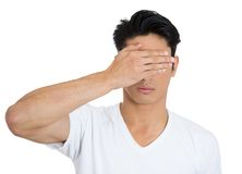 Man, see no evil Royalty Free Stock Photography