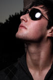 Man in shades Royalty Free Stock Photos