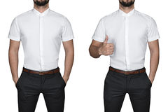 Man in shirt Stock Images