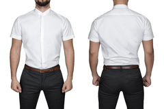 Man in shirt Stock Photography