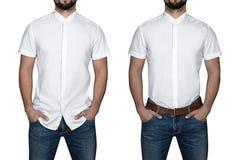 Man in shirt Stock Photos