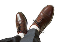 Man shoes Royalty Free Stock Photos