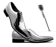 Man shoes. On white background Stock Images