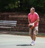Man shooting basketball 2 Royalty Free Stock Image